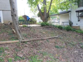 Boxwood Steps - Before