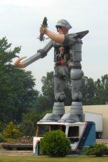 Transformer Statue