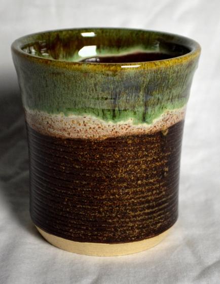 Temmoku(x2)/Seaweed/Walnut