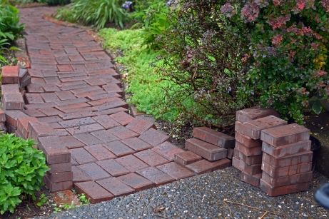 Day 3 - Shifting Last Pavers